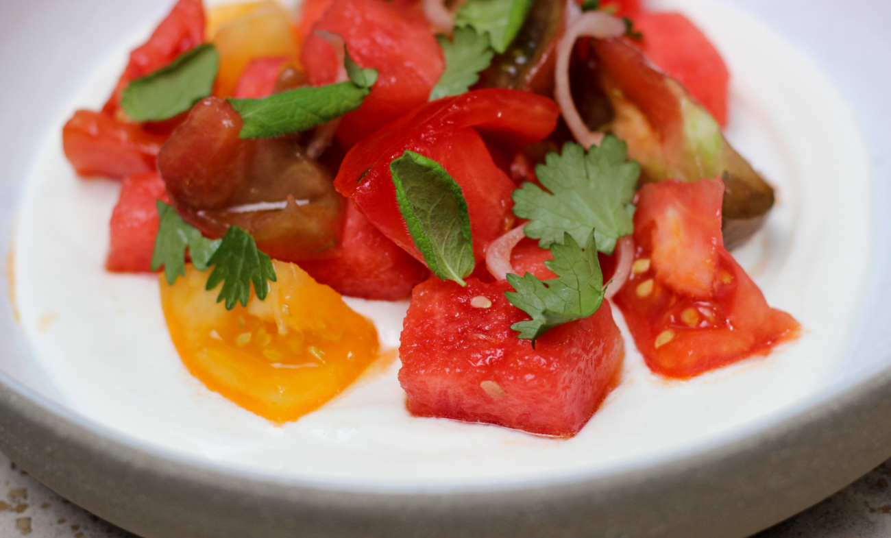 Tomato Watermelon Salad. Scaled 1300x785 Acf Cropped 1